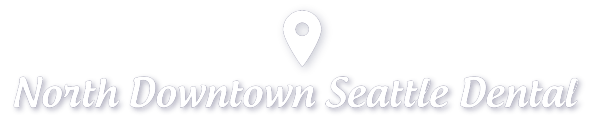 Map Pin Icon with text North Downtown Seattle Dental - Seattle Dentist
